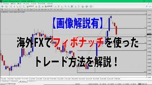 【画像解説有】海外FXでフィボナッチを使ったトレード方法を解説!