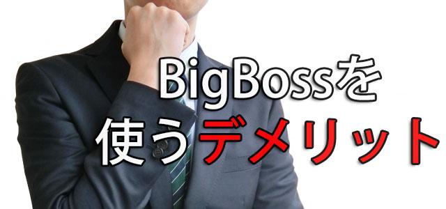 BigBoss 評判 口コミ