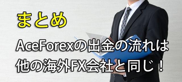 AceFore 出金方法