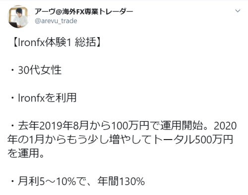 IronFX 安全性