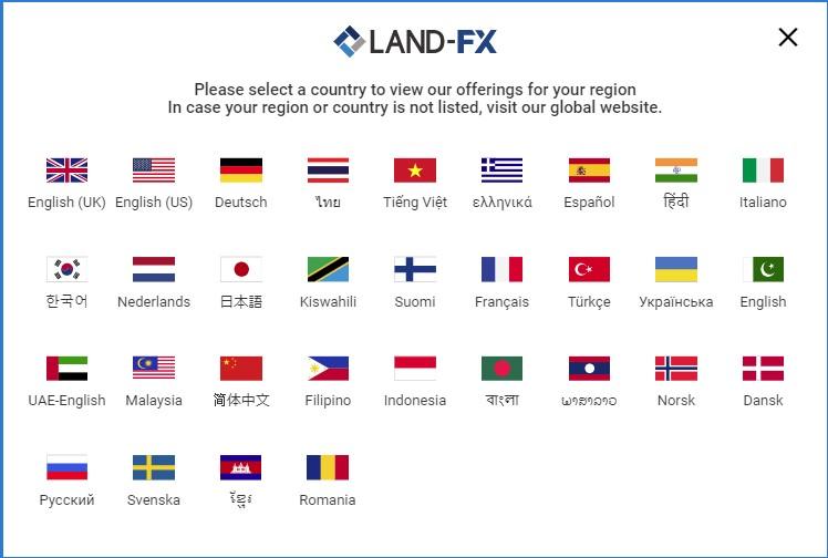 LAND-FX 口座開設